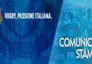 Programma Stampa Squadra Nazionale – NatWest 6 Nazioni 2018