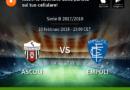 Ascoli – Empoli Live score