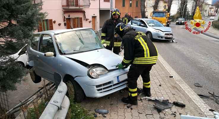 Castelplanio, incidente stradale