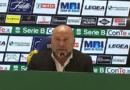 """Frosinone-Ascoli, Cosmi: """"Venire a giocarcela qui è sintomo di personalità"""""""
