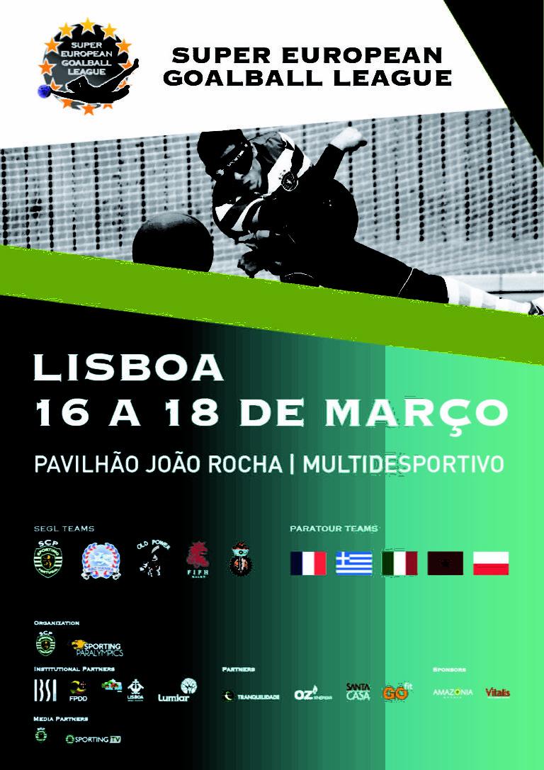 Azzurri in Portogallo per la Super European Goalball League