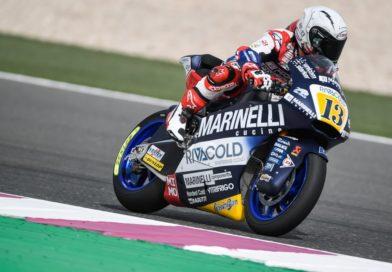 """Moto 2, Romano Fenati: """"Sono davvero felice per il quinto tempo, mi sento sempre meglio sulla moto"""