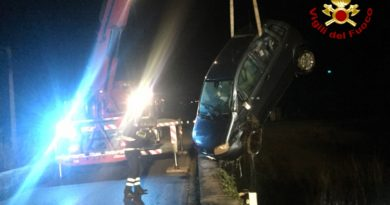 Vigili del Fuoco – Monte San Vito, incidente stradale