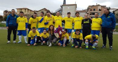 Campionato di calcio a 7 Figc, IV categoria ,(in collaborazione con il CSI) riservato ai disabili intellettivi relazionali