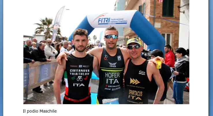 FLIPPER TRIATHLON Ascoli P. A.S.D.,  2° Triathlon SPRINT – Porto Recanati – MC