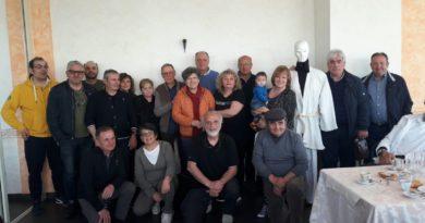 A quaranta anni di distanza ritrovo del corso di Judo a Ripaberarda