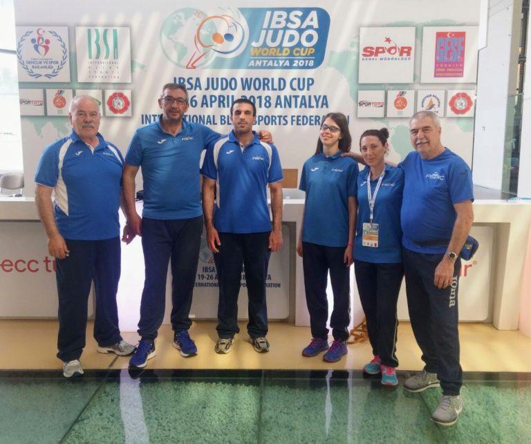Al via l'IBSA Judo World Cup in Turchia