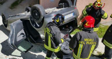Vigili del Fuoco, Fabriano, incidente stradale