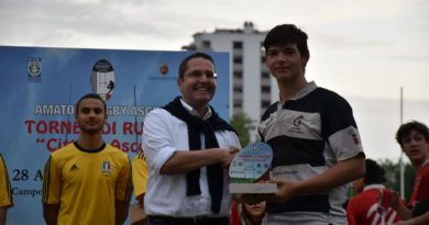 """Ottimo successo per il Torneo di Rugby """"CITTÀ DI ASCOLI"""""""