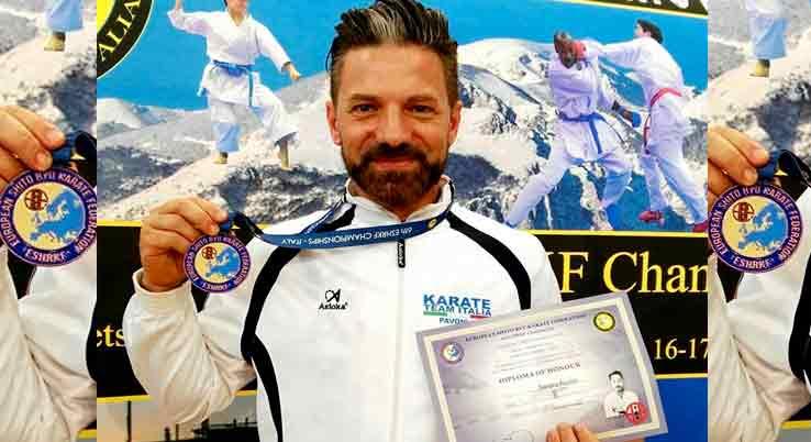 Karate:  PAVONI BRONZO EUROPEO