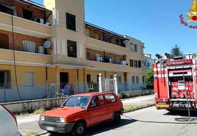 Vigili del Fuoco – Jesi, incendio appartamento