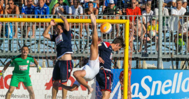 Happy Car Samb beach soccer esordisce nel campionato di serie A-On 2018 con una larga vittoria sulla matricola Rimini