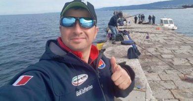 Zefferino Guidi è stato convocato nella nazionale azzurra di pesca sportiva