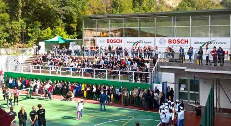 """Cerimonia di apertura Torneo di Calcetto Memorial """" Ennio Capriotti """" 2018."""