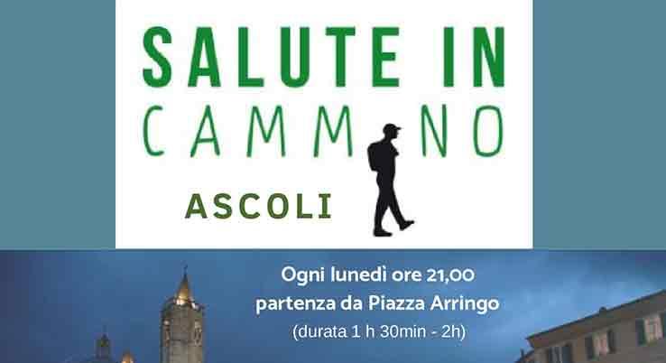 """Terzo appuntamento con """"Salute in cammino Ascoli"""" Lunedì 23 luglio si cammina e si conoscono """"Le porte di Ascoli"""""""