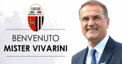 Ascoli Calcio, presentato Vivarini, per lui un biennale