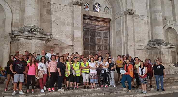 """Più di 70 persone hanno partecipato alla """"Camminata per Sant'Emidio"""""""