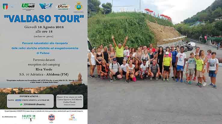 """Giovedì 16 agosto quinto appuntamento con """"Valdaso tour"""" – Questa volta è Pedaso ad essere protagonista dell'iniziativa"""