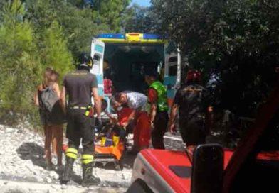Vigili del fuoco – Monte Conero, soccorso a persona