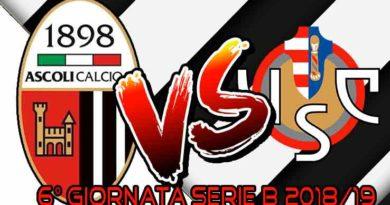 Ascoli - Cremonese Live score