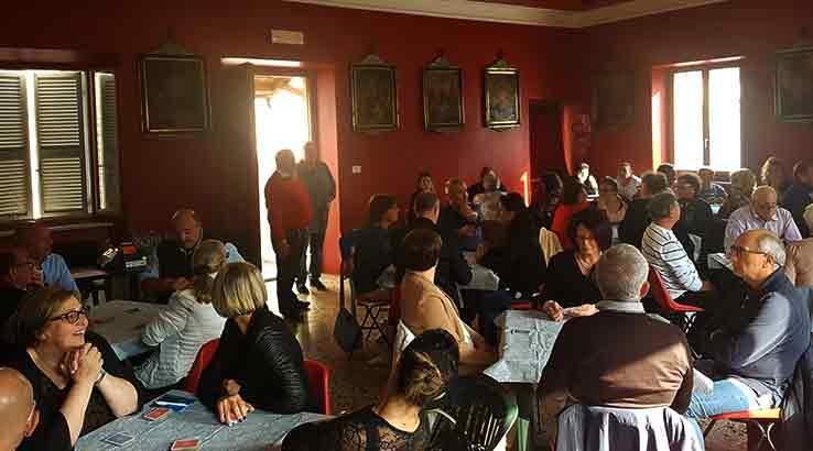 A Passaretti e Biancacci l'ottava tappa del campionato provinciale di burraco