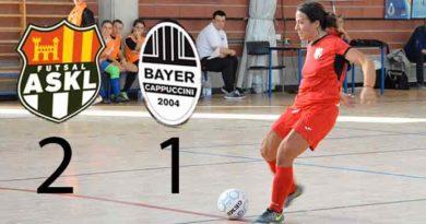 ASKL agguanta i 3 punti con brivido nel finale: C.5 femminile
