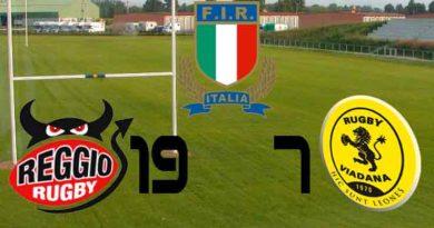 Coppa Italia rugby Valorugby Emilia supera Rugby Viadana 19-7