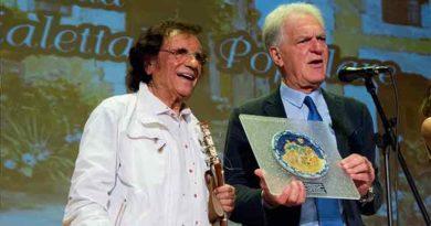 Intervista Toni Santagata 1° rassegna nazionale della canzone dialettale e popolare