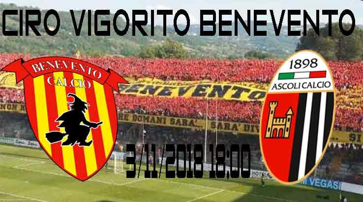 Serie-B-11°-giornata-Benevento-Calcio-Ascoli-Calcio-live