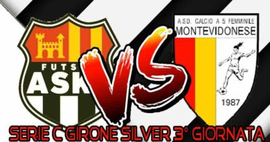 Serie C Girone Silver 3° Giornata , ASKL FEMMINILE - MONTEVIDONESE live score