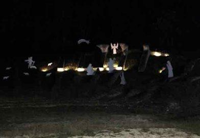 Il Presepe dei Vigili del fuoco all'anfiteatro romano di Ascoli Piceno
