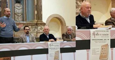 SFRITTO E CASCIO, IL GUSTO DELLA TRADIZIONE Presentato il nuovo libro di Remo Giacobbi