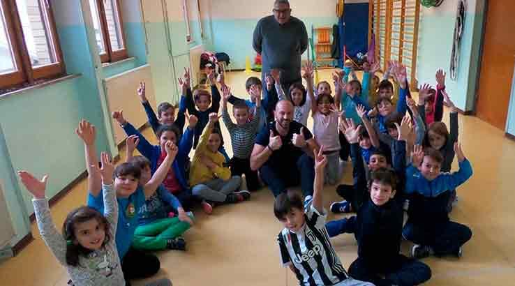 Sitting Volley LA DON DINO MANCINI SI VESTE D'AZZURRO