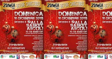 Tutto pronto per Zumba fitness Before Christmas