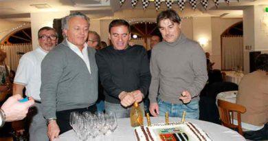 Patron, dell'Ascoli Calcio 1898 Fc, Massimo Pulcinelli alla festa di natale di, I PALLONARI DEL'ASCOLI CALCIO