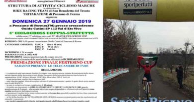 """La Bike Racing Team è """"tricolore"""" nel ciclocross con Adamo Re"""