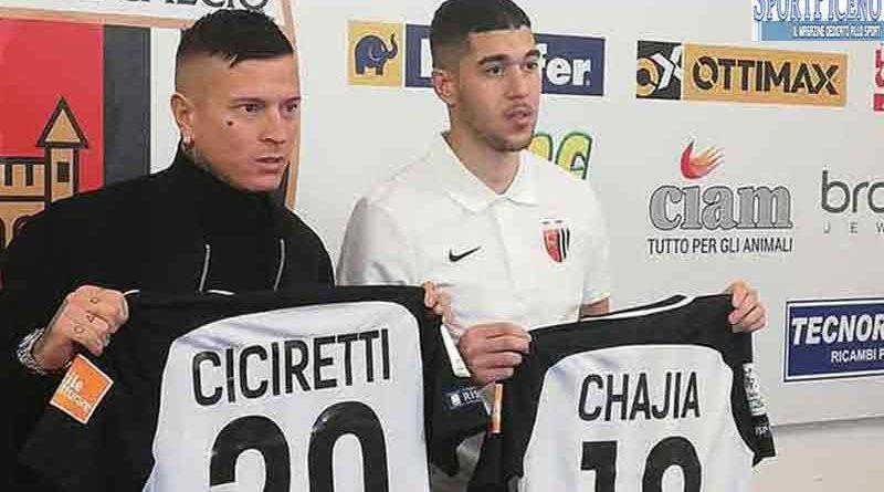 Chajia e Ciciretti, Vivarini: grandi rinforzi per una grande squadra