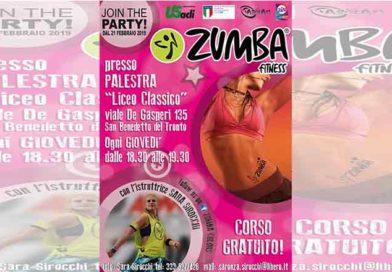Giovedì 21 febbraio: tante attività dell'U.S. Acli a San Benedetto del Tronto: zumba, yoga e burraco