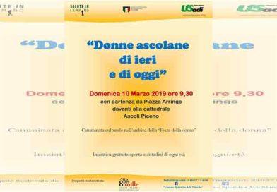 """""""Donne ascolane di ieri e di oggi"""": appuntamento il 10 marzo"""