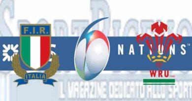 GALLES Italia Sei Nazioni D. 2019, il xv azzurro
