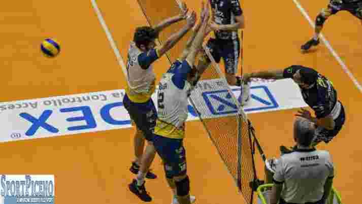 Pallavolo Serie A2 Maschile: Videx - Materdomini 0-3.