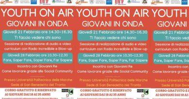 Univpm, Grottammare, Radio Incredibile e Blow-up insieme per il lavoro dei giovani del Piceno