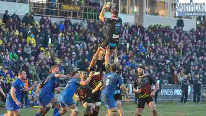 Zebre Rugby Club Vs Leinster 24-40, Guinness PRO14 2018/2019, 15°