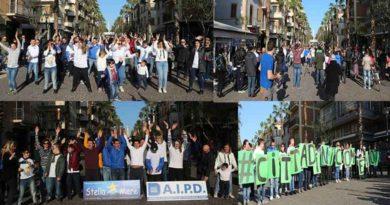 FLASH MOB, San Benedetto T. ,GIORNATA MONDIALE PERSONE DOWN, #CITTADINICOMEVOI