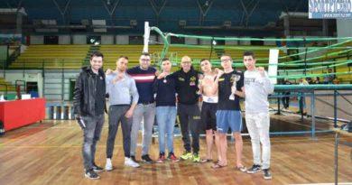 Kick Boxing Ascoli al gala 30 marzo a San Benedetto del Tronto