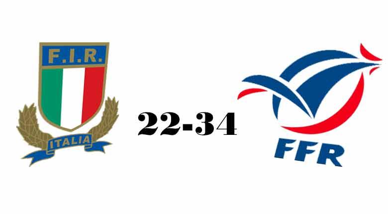 LA FRANCIA U18 SUPERA 34-22 L'ITALIA U18 NEL TEST MATCH A MARCOUSSIS