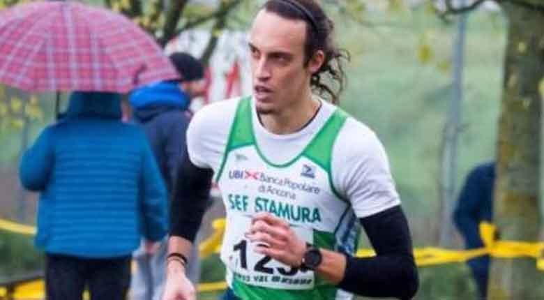 Stefano Massimi in gara