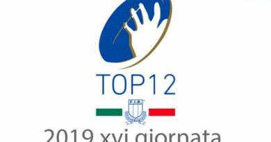 TOP12 2019 XVI GIORNATA