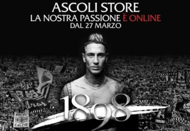 Dal 27 marzo lo store online dei prodotti ufficiali dell'Ascoli Calcio.