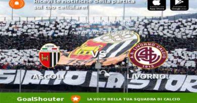Serie B: Ascoli Livorno live